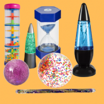 7 Piece Visual Fun Sensory Buddy Set